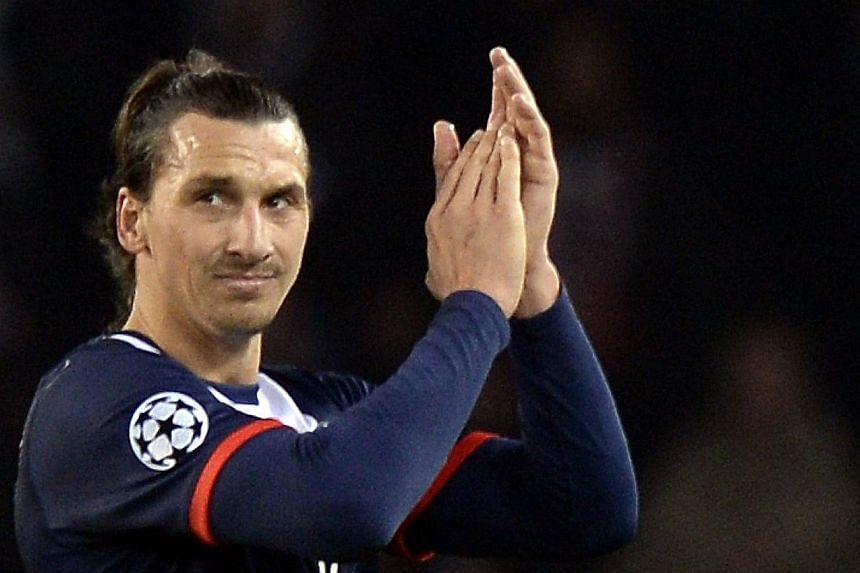 Cristiano Ronaldo or Franck Ribery can have the Ballon d'Or, Zlatan Ibrahimovic (above) does not need it. -- PHOTO: AFP
