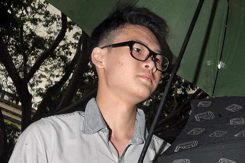 Student Melvin Teo (above), the second suspect behind the hacking of an Istana webpage, was charged in court, on Friday, Nov 29, 2013, with two counts of unauthorised modification of computer material under the Computer Misuse and Cybersecurity Act.&