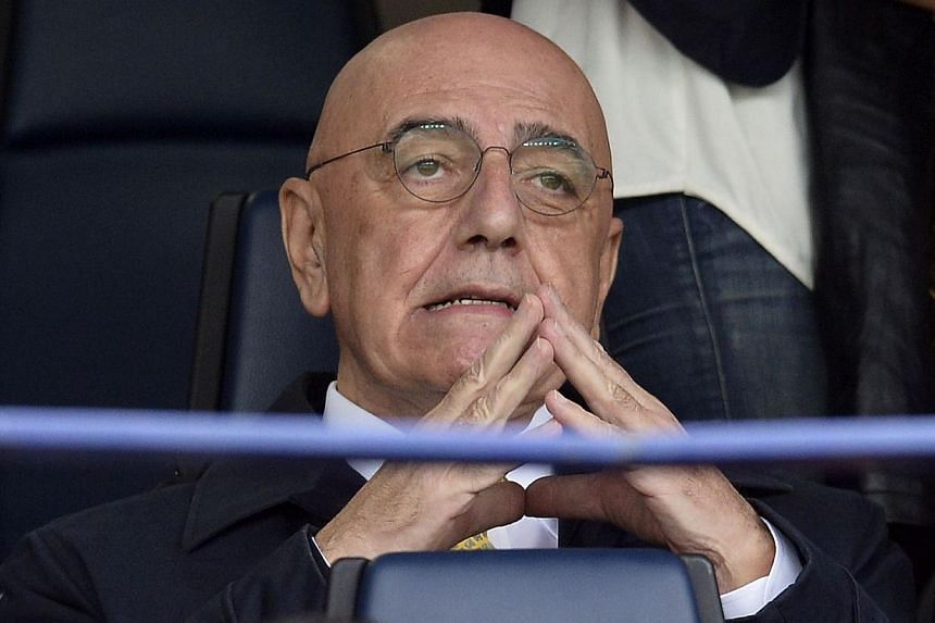 Ac Milan's vice-president Adriano Galliani attends the Serie A football match Chievo Verona vs Ac Milan on Nov 10, 2013 in Verona. Adriano Galliani will stay in his position as AC Milan chief executive officer despite handing in his resignation, club