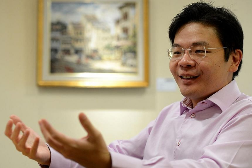 Acting Minister for Culture, Community and Youth Lawrence Wong will be visiting the Kingdom of Bhutan from Monday to Wednesday, at the invitation of His Excellency Lyonchhen Tshering Tobgay, Bhutan's prime minister. -- ST FILE PHOTO:MUGILAN RAJ