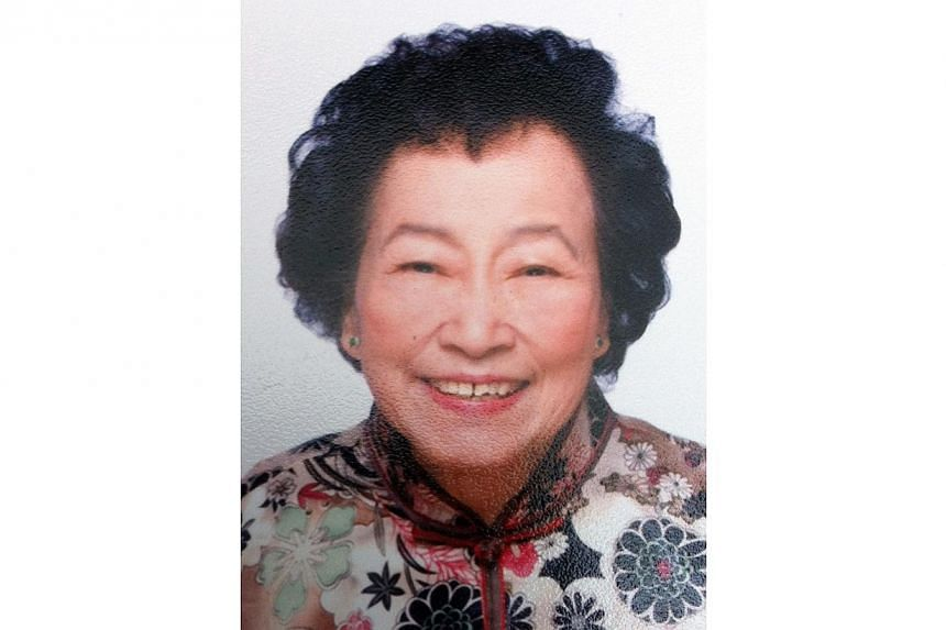 Madam Chin Siat Keow, 81, died after being hit by a tipper truck on Saturday, Nov 30 , 2013. Police have arrested a tipper truck driver who drove off after knocking down a 81-year-old woman. -- PHOTO: DECEASED'S FAMILY