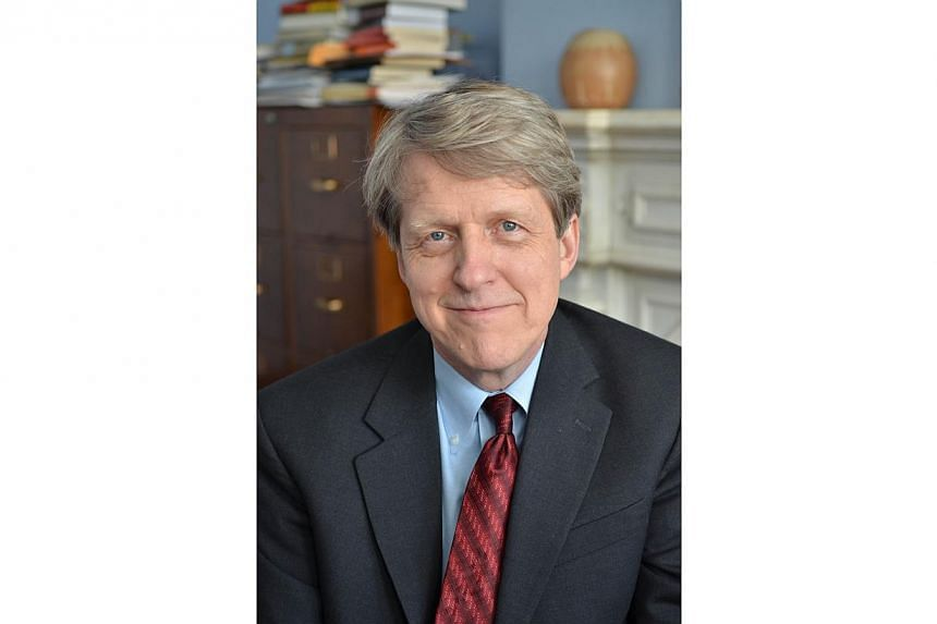 This handout image provided October 14, 2013 courtesy of Yale University shows Professor of Economics Robert Shiller. Mr Robert Shiller, who won the esteemed award with two other Americans for research into market prices and asset bubbles, pinpo