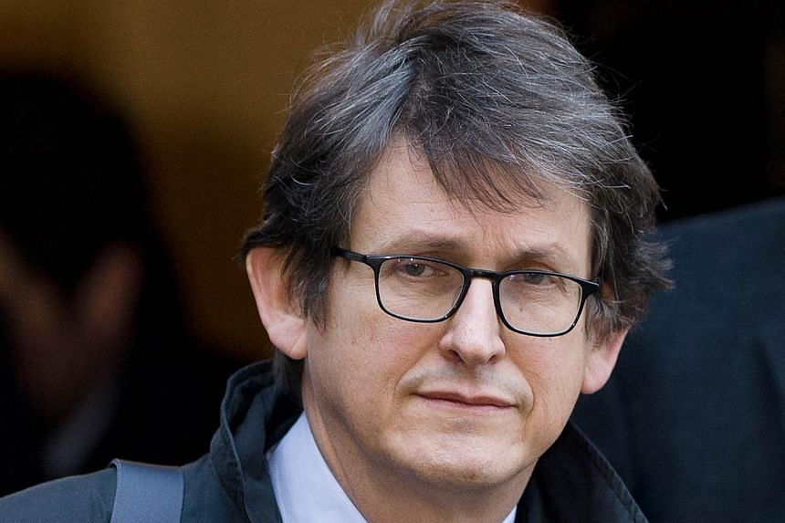 The editor of Britain's Guardian newspaper, Alan Rusbridger (above), is to appear before lawmakers on Tuesday, Dec 3, 2013, to defend his newspaper's publication of intelligence documents leaked by former US intelligence analyst Edward Snowden. -- FI