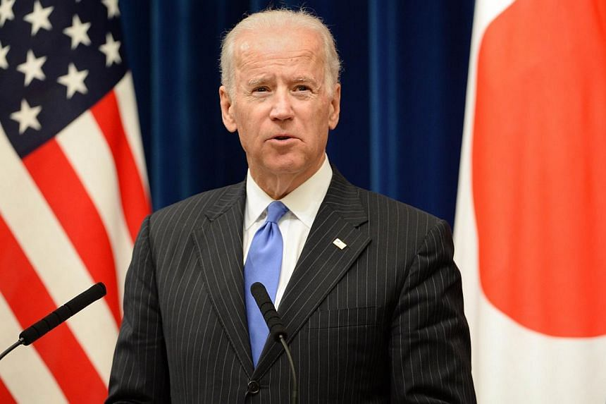Japan and China must set up systems for talking to each other and dealing with crises if they are to avoid a worsening of their territorial dispute, US Vice-President Joe Biden (above) said on Tuesday, Dec 3, 2013. -- PHOTO: AFP