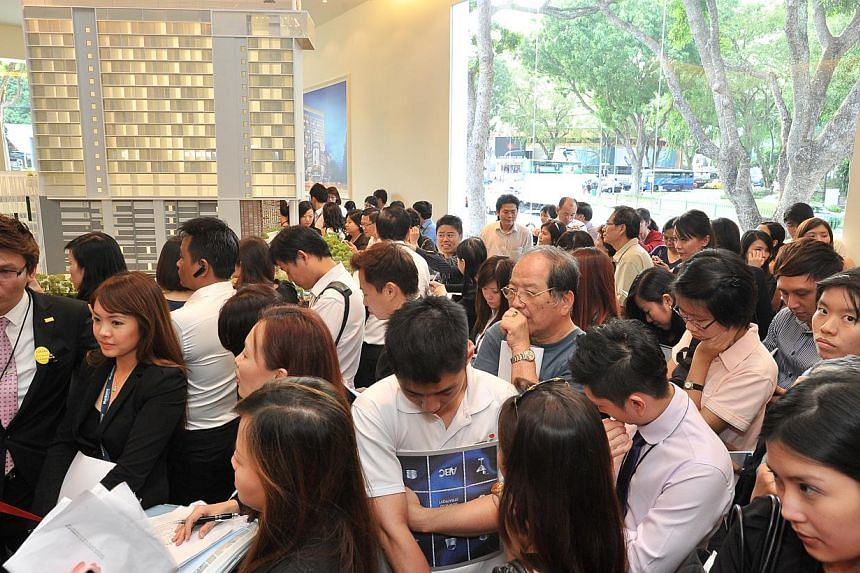 The property curbs introduced in Singapore over the past few years have slowed growth in home loans and curbed investment demand. -- ST FILE PHOTO: LIM YAOHUI