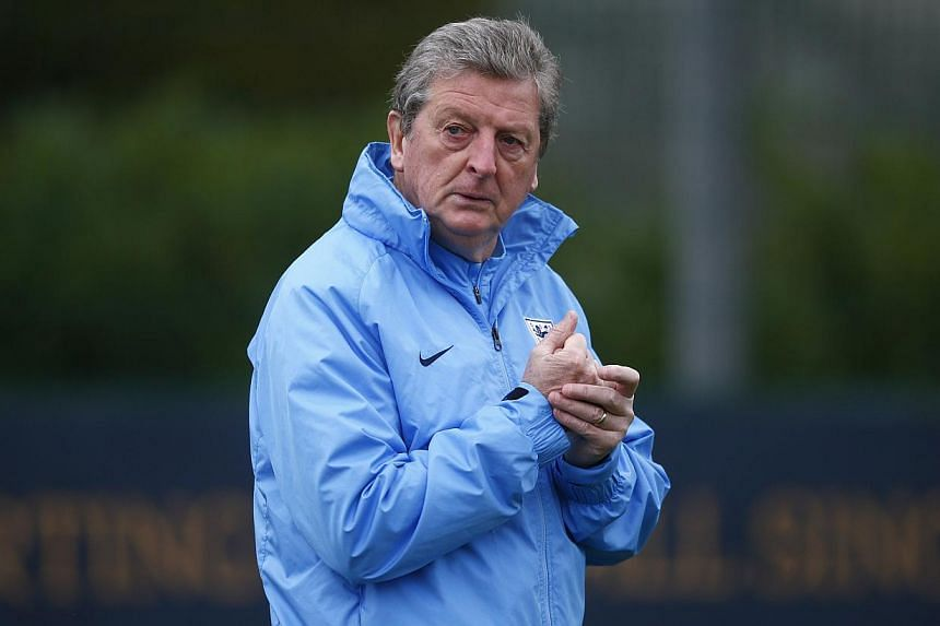 England manager Roy Hodgson arrives for a team training session at Arsenal's training facility in London Colney, north of London, Nov 18, 2013.Hodgson borrowed a line from the hit movie Forrest Gump on Monday when he described his thoughts ahea