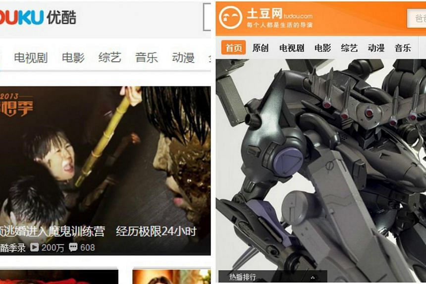 Chinese video streaming website Youku Tudou will invest 300 million yuan in boosting content on its site next year, said Chief Content Officer Sunny Zhu. -- PHOTOS: SCREENGRABS OF YOUKU & TUDOU WEBSITES