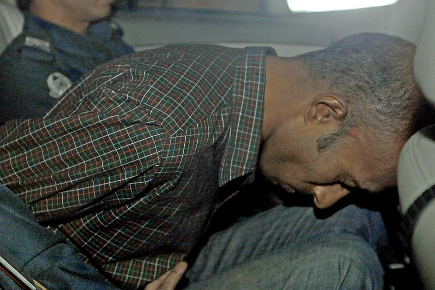 """James Raj Arokiasamy (above), the 35-year-old who allegedly signed off as """"The Messiah"""" when he hacked into a town council website, has been denied bail. -- ST FILE PHOTO:WONG KWAI CHOW"""