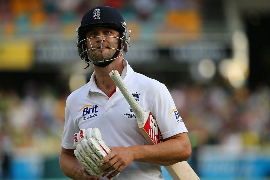 England captain Alastair Cook said today it was important to give Jonathan Trott (above) time and space to recover from a stress illness that had forced him out of the Ashes series in Australia. -- FILE PHOTO: AFP