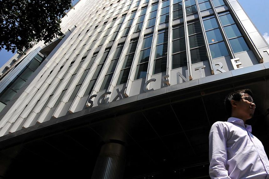 The Singapore Exchange (SGX) and its Hong Kong counterpart have struck a deal to cooperate in promoting the internationalisation of the Chinese yuan or renminbi. -- ST FILE PHOTO:KUA CHEE SIONG