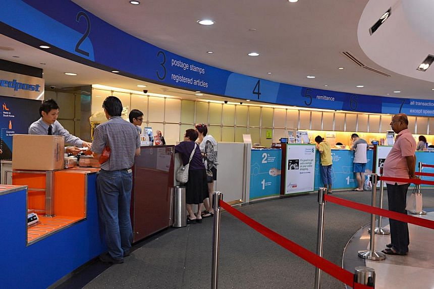 To ensure customers get their gifts and purchases on time, SingPost is beefing up its operations with effect from Saturday. It will deploy additional manpower and extend its operations to meet the expected increase in demand. -- ST FILE PHOTO: N
