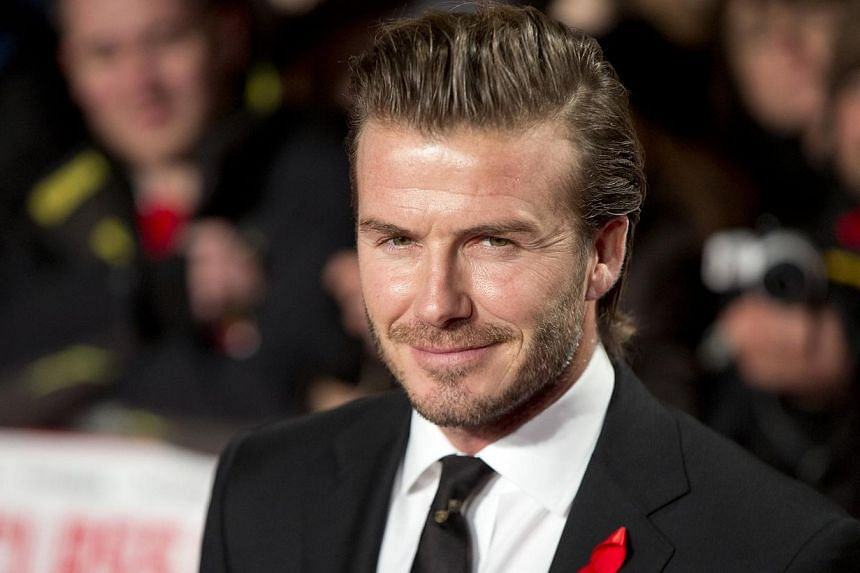 David Beckham attends the world premier of the film The Class Of 92 in London on Dec 1, 2013.Major League Soccer (MLS) would love to see a new franchise in Miami backed by Beckham but there will not be a new team in South Beach until a stadium