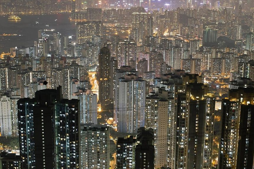 Hong Kong's Kowloon district is pictured on Oct 28, 2013. Negative feelings in Hong Kong towards mainland Chinese are at their highest for some years, while sentiment about Japanese people remains comparatively warm, a poll shows. -- FILE PHOTO: AFP