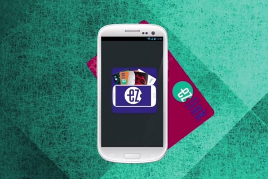 Land Transport Authority-owned EZ-Link has launched an app that turns your smartphone into a mobile machine that tops up the value of your EZ-link card.-- PHOTO: SCREEN CAPTURE FROM YOUTUBE