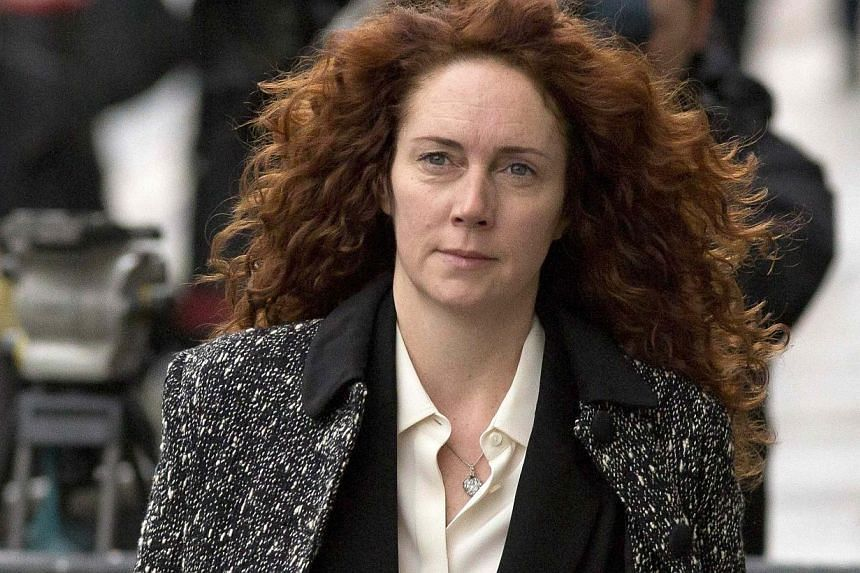 Former News International chief executive Rebekah Brooks arrives at the Old Bailey courthouse in London, on Nov 18, 2013. Rebekah Brooks, the former head of Rupert Murdoch's British newspaper business, authorised an illegal £4,000 (S$8,200) payment