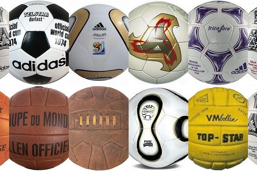 Below is our guide to the World Cup's previous balls.