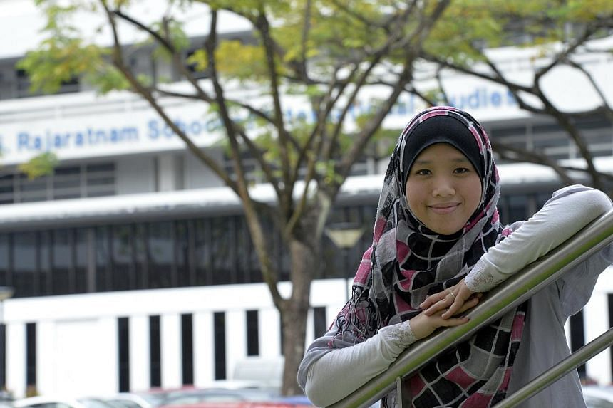 Ms Nur Azlin, 28, has trained her sights on online cyber-terrorism since she joined RSIS - first as an analyst in 2007, then as an associate research fellow two years ago. Part of her work involves monitoring websites known to be frequented by extrem
