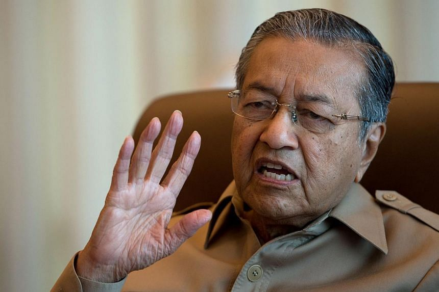 Nelson Mandela was a truly great leader with incredible fortitude and an unflinching dedication to the cause of social justice, ex-prime minister Tun Dr Mahathir Mohamed (above) said.-- FILE PHOTO: AFP