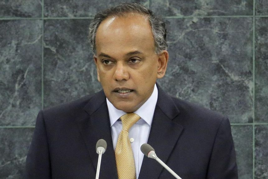 """Former South African president Nelson Mandela """"embodied the best of the human spirit"""", Foreign Minister K. Shanmugam (above) said on Friday, Dec 6, 2013. -- FILE PHOTO: REUTERS"""