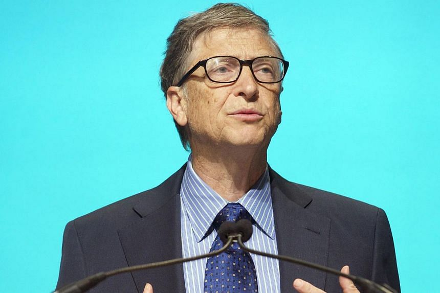 """Microsoft founder Bill Gates: """"His grace and courage changed the world.""""-- FILE PHOTO: AFP"""
