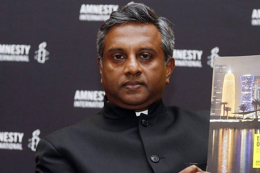"""Amnesty International Chief Salil Shetty: """"His courage helped change our entire world.""""-- FILE PHOTO: REUTERS"""