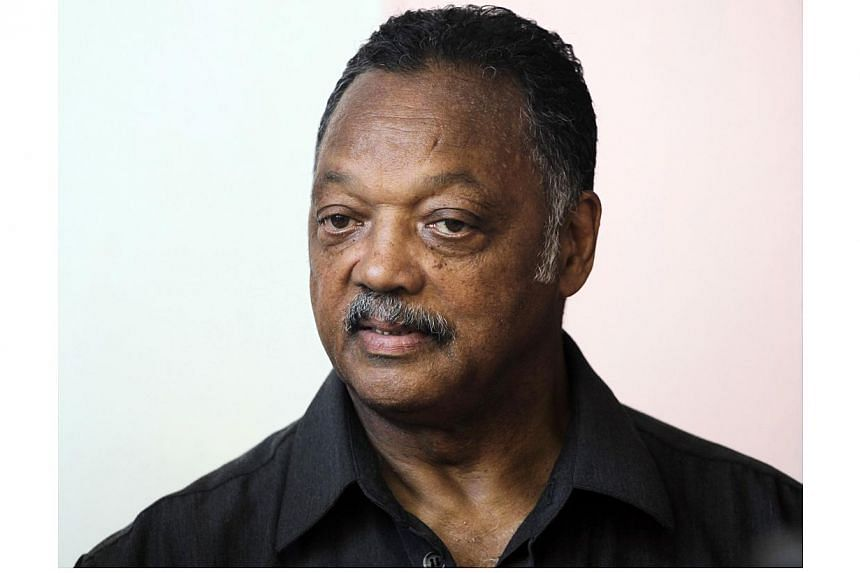 """The Reverend Jesse Jackson: """"A true pioneer and inspiration in my life.""""-- FILE PHOTO: REUTERS"""