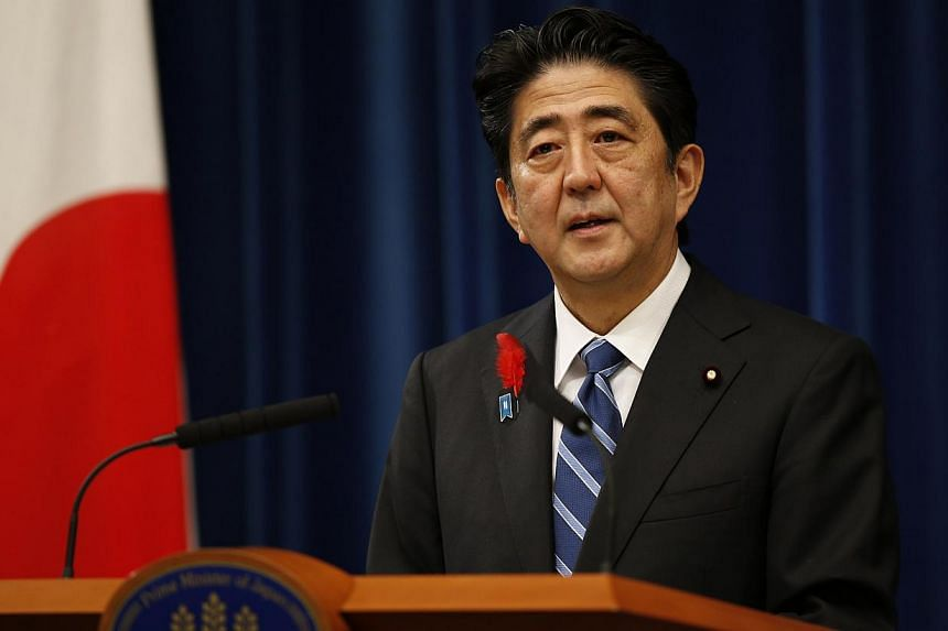 """Japanese Prime Minister Shinzo Abe: """"Mr Mandela fought with strong determination to abolish apartheid, and he succeeded in building a country with reconciliation as its foundation.""""-- FILE PHOTO: REUTERS"""