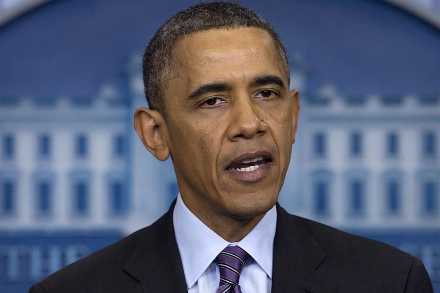 """United States (US) President Barack Obama: """"He achieved more than could be expected of any man."""" -- PHOTO: AP"""