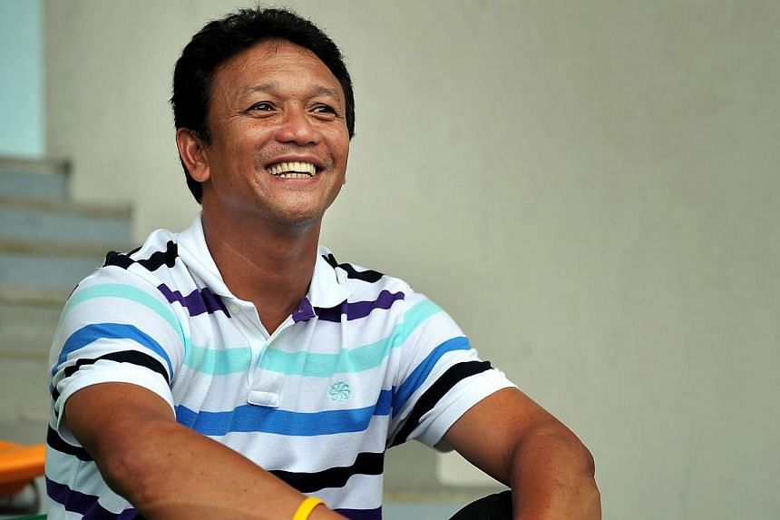 Fandi Ahmad has been confirmed as new coach of the LionsXII. -- TNP FILE PHOTO:KUA CHEE SIONG