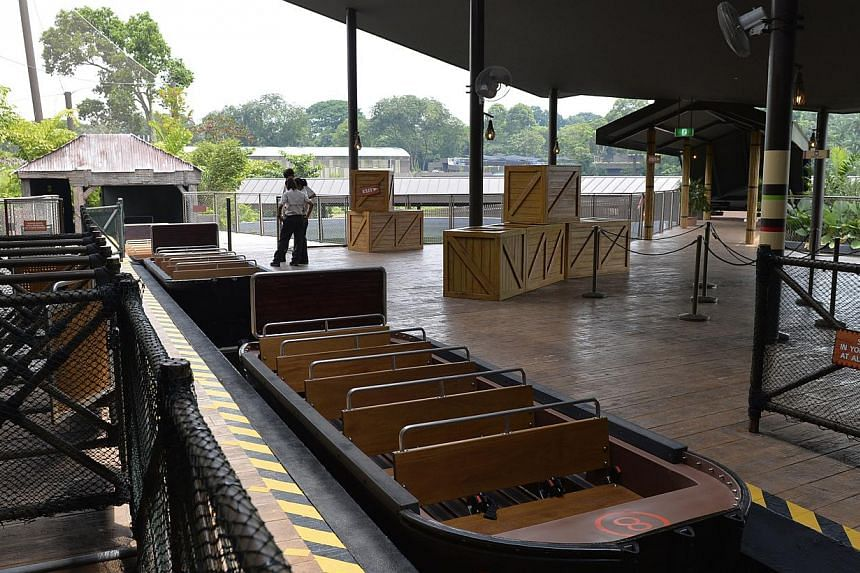 The Amazon River Quest boat ride at the River Safari finally opened to the public on Saturday. -- ST FILE PHOTO: DESMOND FOO