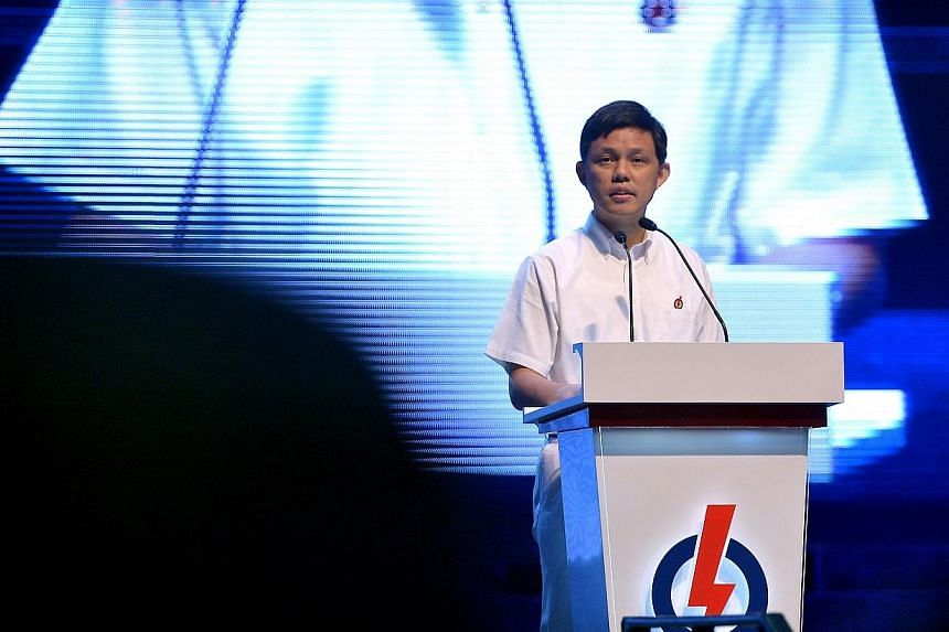 The opening speech by organising secretary, Chan Chun Sing, at the PAP Party Convention 2013 held at the Kallang Theatre, on Sunday, Dec 8, 2013. The ruling People's Action Party (PAP) must continuously and strenuously defend the common spa
