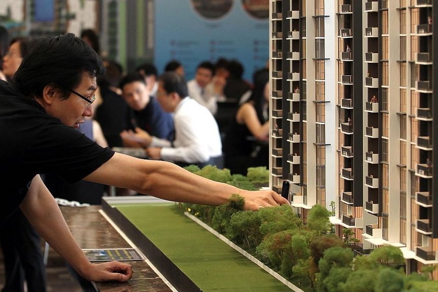 The Government will implement three measures in a bid to bring the framework for executive condominums (ECs) more in line with that of public housing as well as to support a stable EC market. -- ST FILE PHOTO:SEAH KWANG PENG