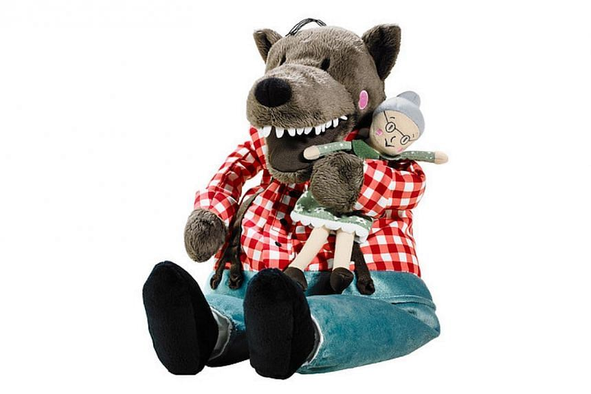 Lufsig, a stuffed toy wolf from Ikea, has become an unlikely symbol of opposition to Hong Kong's government. -- PHOTO: FROM IKEA WEBSITE