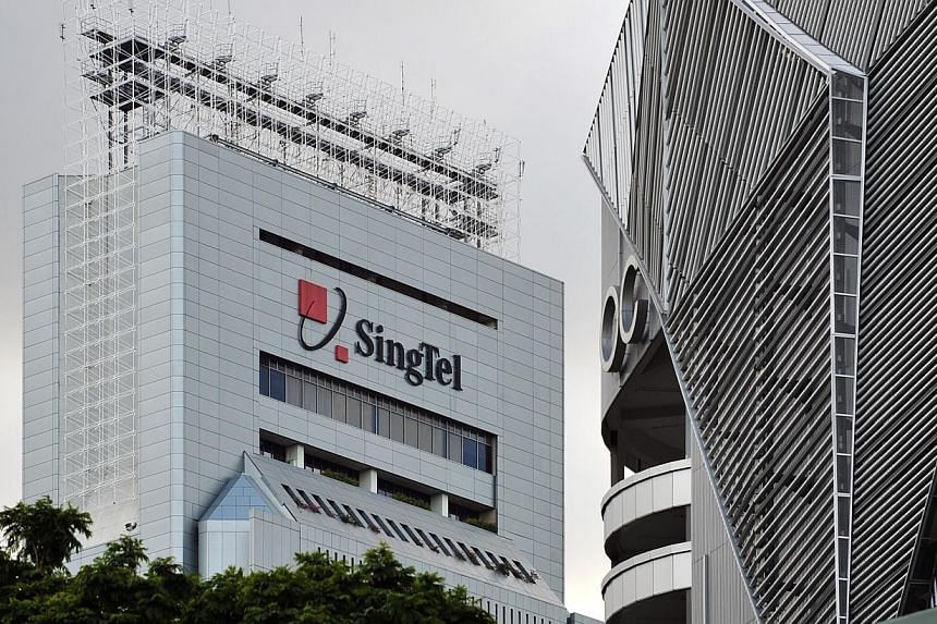 The SingTel building in Somerset Road. -- ST FILE PHOTO: ALPHONSUS CHERN