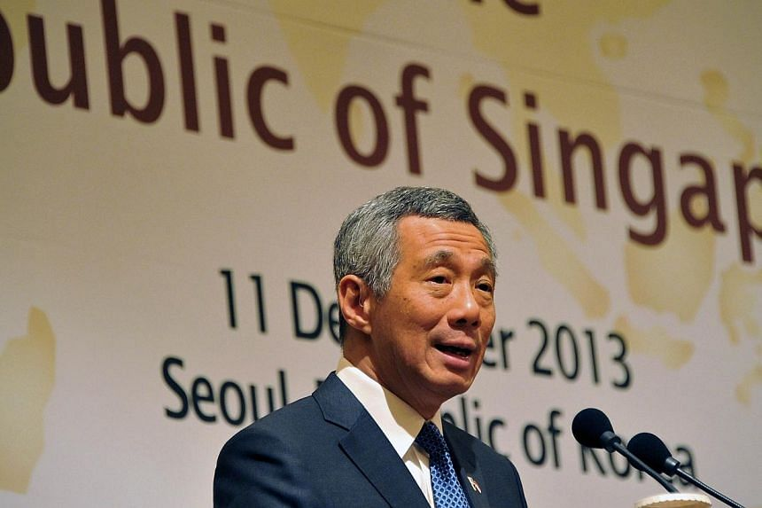 Asia's prospects for economic growth remain positive, provided the region continues to be peaceful and stable, said Prime Minister Lee Hsien Loong on Wednesday. -- PHOTO: AFP