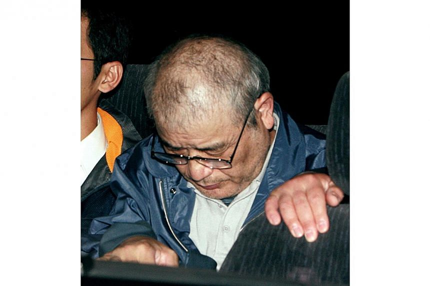 A March 2008 photo of Ryoji Kagayama, who stabbed to death a student from China after robbing her in 2000 and was executed by hanging on Thursday, December 12, 2013. Japan hanged two men on Thursday, bringing to eight the number of prisoners executed