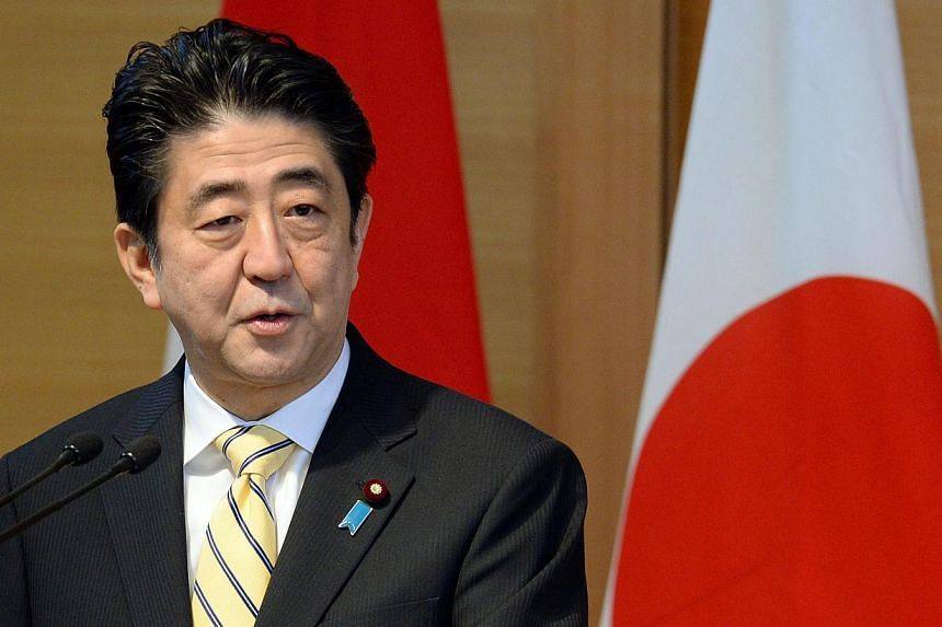 In a summit of Japan and 10 members of the Asean, Prime Minister Shinzo Abe (above) will announce two trillion yen in loans and grants over five years in aid to South-east Asian countries this weekend, public broadcaster NHK and business daily Nikkei