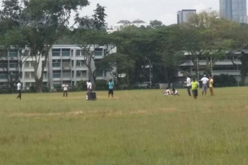 It was a quiet Sunday at most parts of Little India, the scene of a riot just a week ago that left 39 Home Team officers injured and 25 government vehicles damaged.A cricket game was taking place at an open field nearby when The Straits Times v