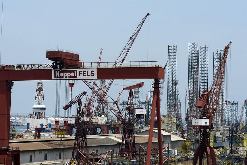 SUBSIDIARIES of Keppel Offshore & Marine (O&M) have secured five contracts worth a total of about $150 million.Rigs at Keppel Offshore and Marine. -- FILE PHOTO: DESMOND FOO