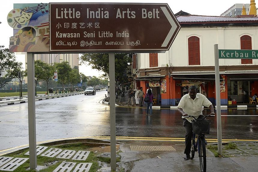 "Little India on Dec 11 2013. Workfair Singapore, a group of civil society volunteers concerned about worker rights, said on Wednesday that it is ""deeply dismayed"" that some of the workers remanded on charges of rioting in Little India have complained"