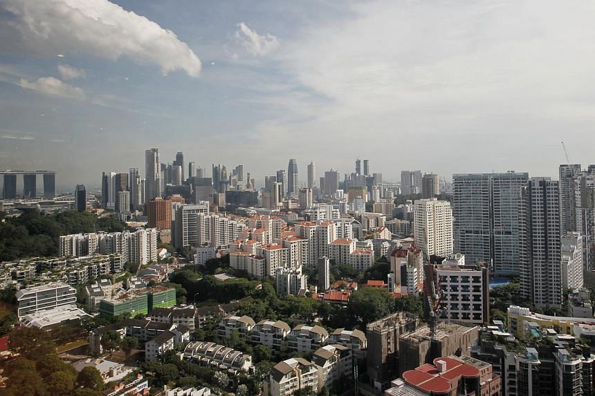 The Ministry of National Development (MND) said on Wednesday it will sell land in the first half of next year that can yield 11,600 homes. -- ST FILE PHOTO: MARK CHEONG