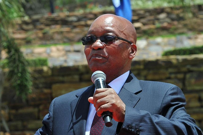 The South African government on Thursday, Dec 19, 2013, said President Jacob Zuma did not abuse state funds in the multi-million dollar revamp of his private home which has sparked widespread anger ahead of polls next year. -- FILE PHOTO: AFP
