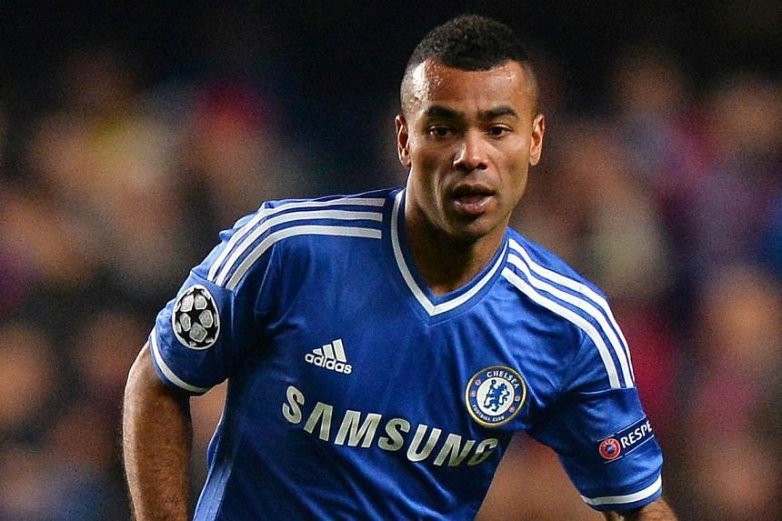 Chelsea's English defender Ashley Cole runs with the ball during the UEFA Champions League group E football match between Chelsea and Steaua Bucharest at Stamford Bridge on Dec 11, 2013. -- FILE PHOTO: AFP