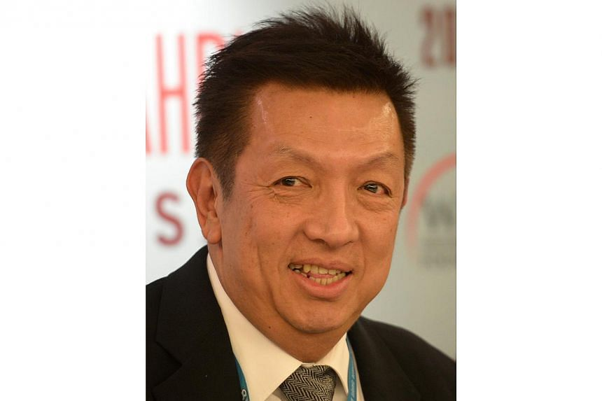 Singaporean businessman Peter Lim has made a bid to take over financially stricken La Liga side Valencia and wipe out its debts, the club's president Amadeo Salvo announced on Sunday, Dec 22, 2013. -- ST FILE PHOTO: MUGILAN RAJASEGERAN