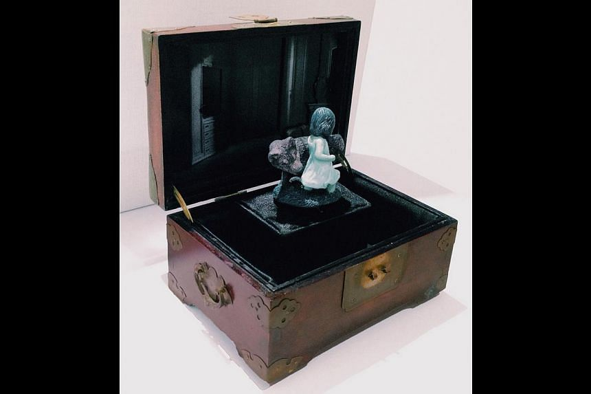 The Little Red Riding Hood music box based on the famous children's tale. -- PHOTO: COURTESY OF DENISE TAN