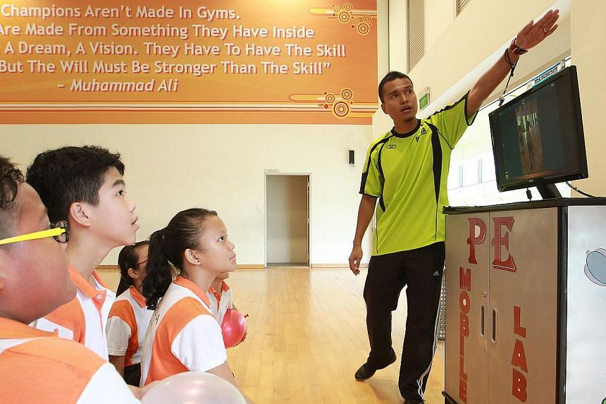 Six classes at Innova Primary have tried out the app during PE lessons so far, while the rest will do so by the middle of next year. PE teachers at Innova Primary School now use video analysis, which allows slow motion and frame-by-frame scrubbing, t