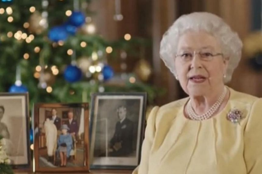 Queen Elizabeth II urged people to take the time for quiet reflection in 2014, in her annual Christmas Day message to the Commonwealth. -- PHOTO: YOUTUBE SCREENGRAB