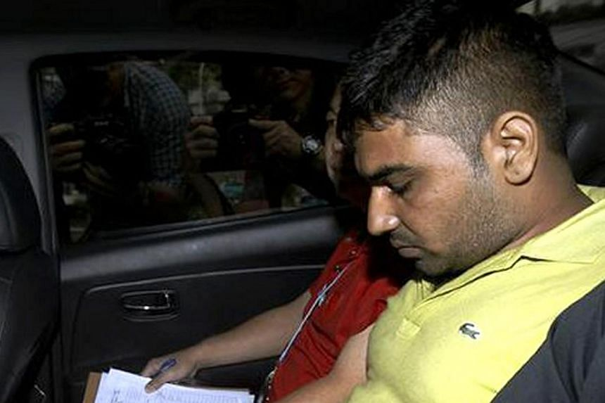 Gursharan Singh, 25, is accused of the murder of Ms Jasvinder Kaur, whose decapitated body was found in Whampoa River.Gursharan Singh wasremanded for psychiatric assessment on Friday. -- ST FILE PHOTO:WONG KWAI CHOW