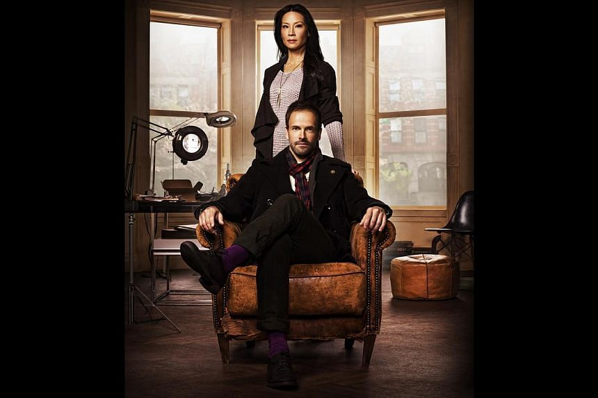 Television still from TV series Elementary starring Lucy Liu and Jonny Lee Miller. -- FILE PHOTO: SINGTEL