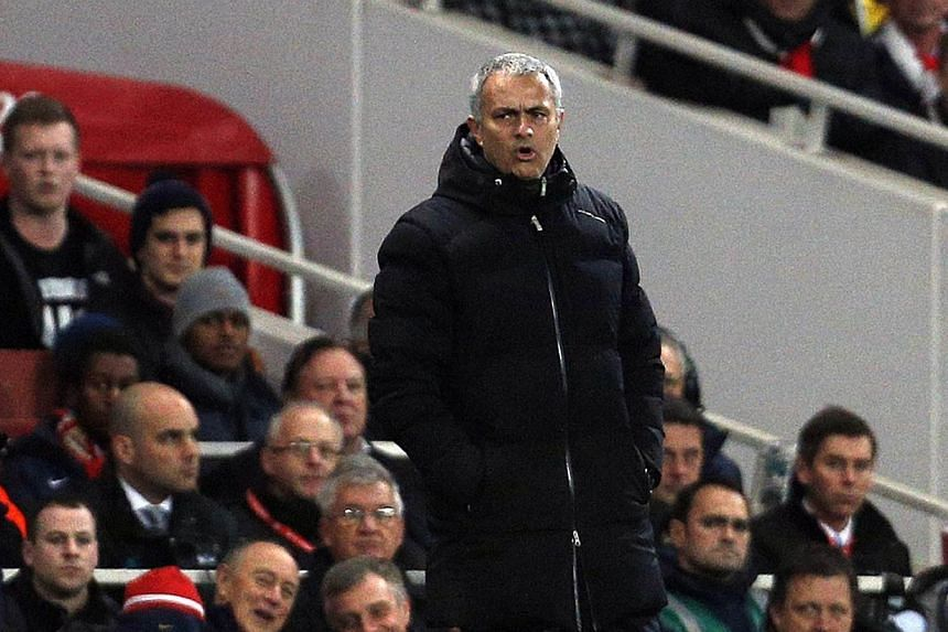 Chelsea manager Jose Mourinho (above) believes that Liverpool's absence from European competition this season means that they must be considered genuine contenders for the Premier League title.-- FILE PHOTO: AFP
